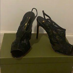 Rupert Sanderson Black Heels